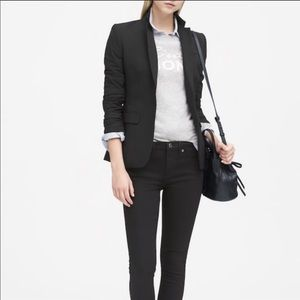 Banana Republic Black Wool Blazer